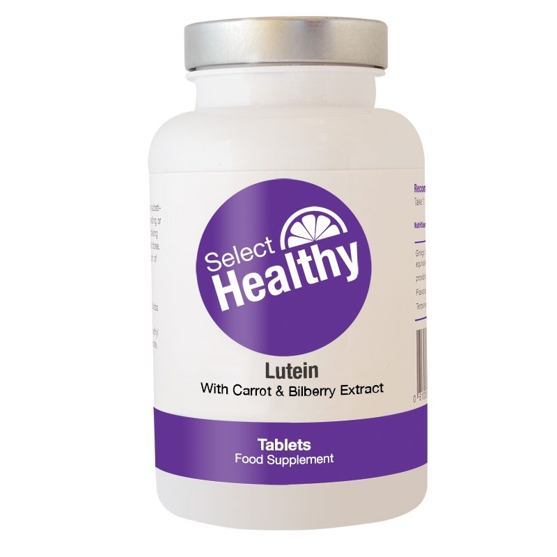 Lutein With Carrot & Bilberry Extract