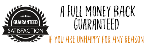 a full refund – guaranteed